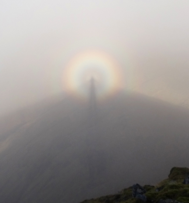 Brocken Spectre on Stob Dubh