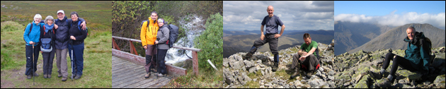 Some recent clients of GA Highland Walks