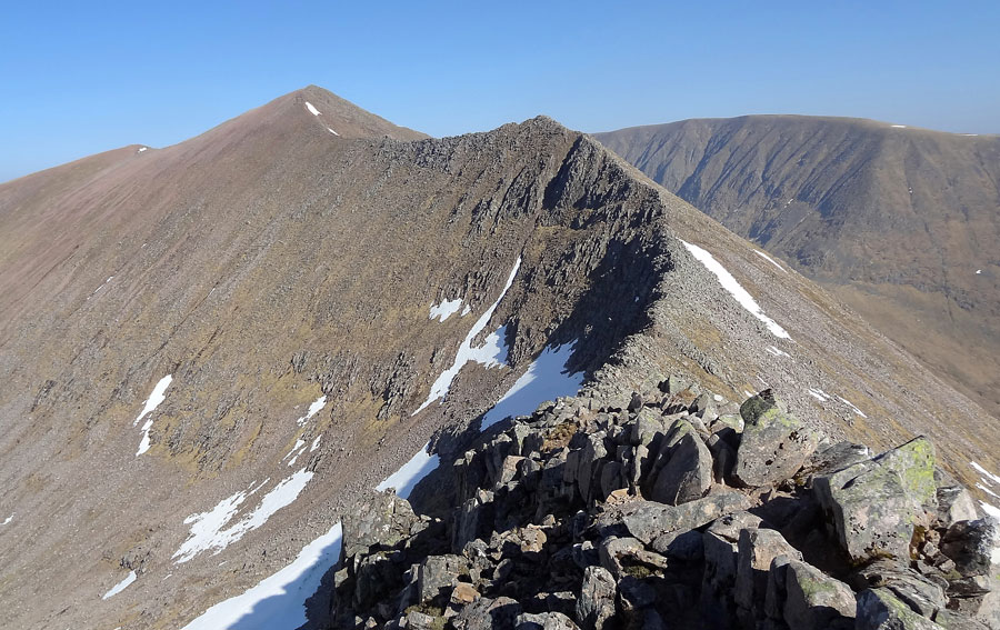 Carn Mor Dearg and CMD Arete
