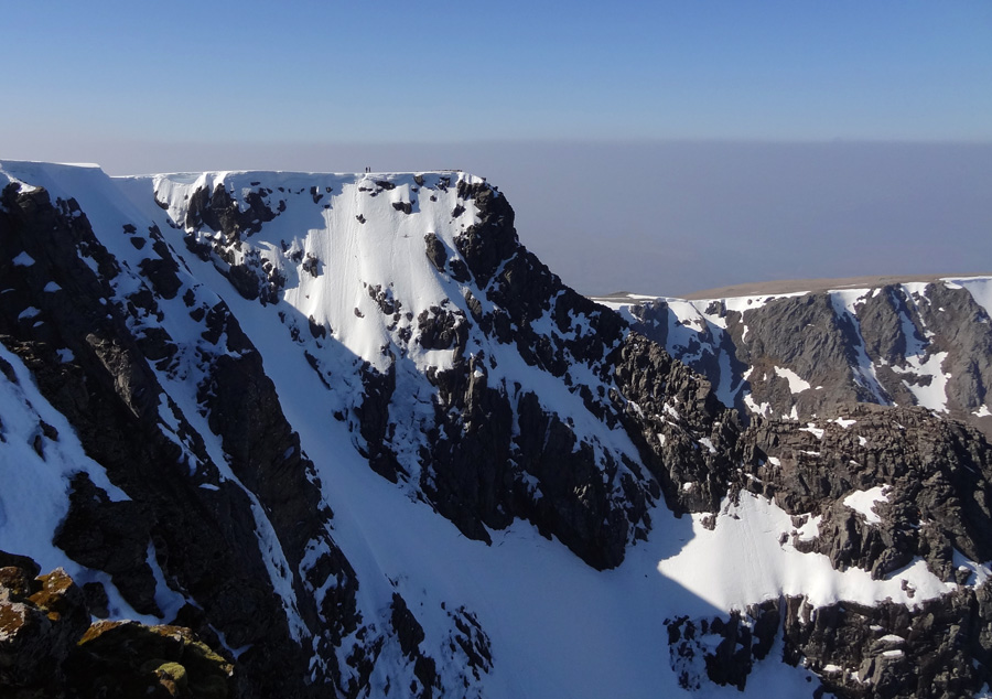 Two climbers reach Ben Nevis summit plateau