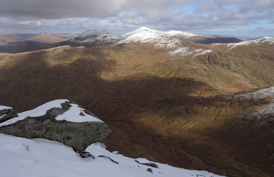 View to Cruach Ardrain from An Caisteal