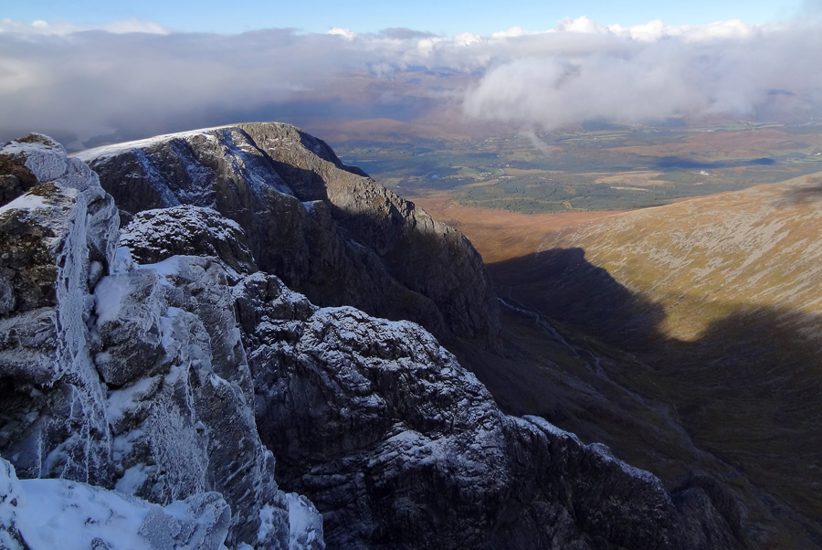 View North West from Summit of Ben Nevis
